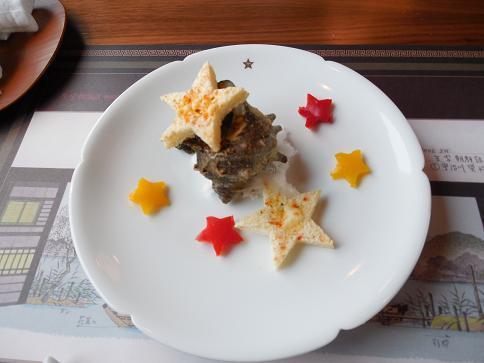 サザエ料理.JPG